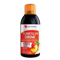 FORTE PHARMA TURBOSLIM DRINK TEA-PEACH 500ML