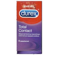 DUREX TOTAL CONTACT 6ΤΕΜ