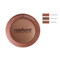 RADIANT AIR TOUCH BRONZER No6-REAL BROWN