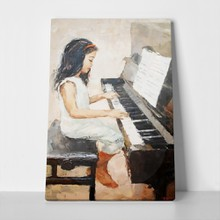 Cute girl playing piano 252432859 a