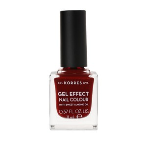KORRES Gel effect nail colour N59 wine red 11ml