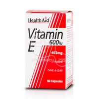 HEALTH AID - Vitamin E 600iu - 60caps