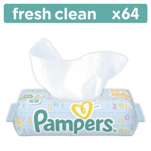 Pampers baby wipes x64