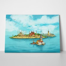 Istanbul illustration 1058130101 a