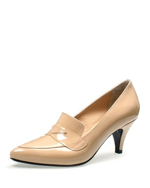 POINTY MOCASSIN, MEDIUM HEEL - ANASTAZI BOURNAZOS