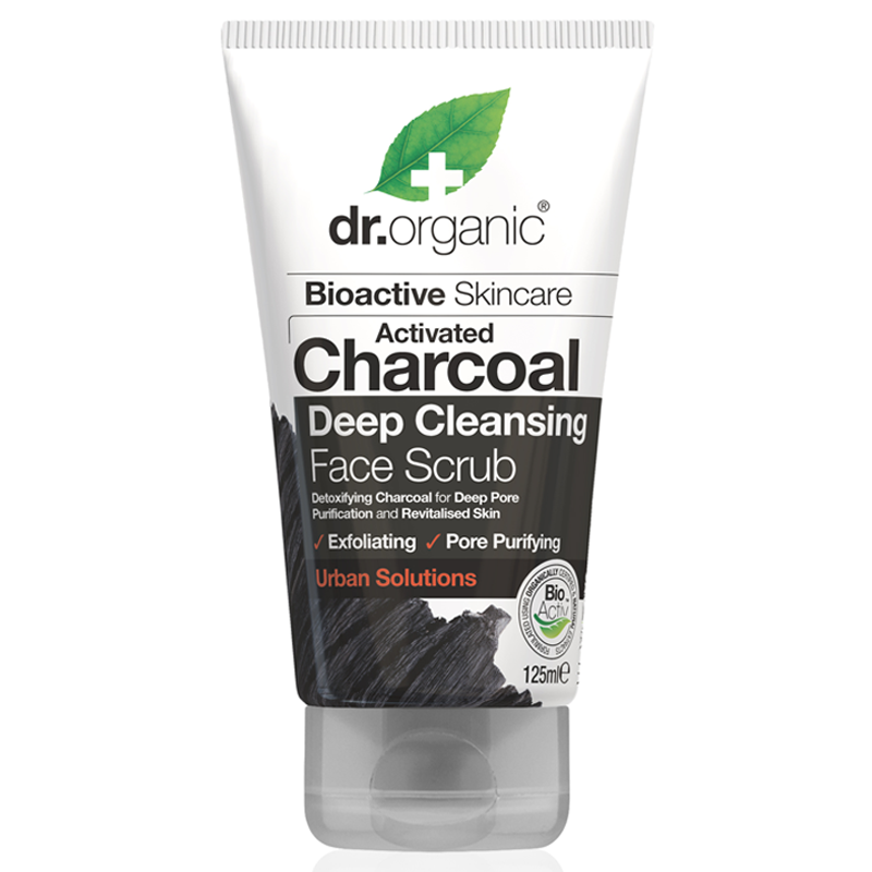 Activated Charcoal Deep Cleansing Face Scrub 125ml