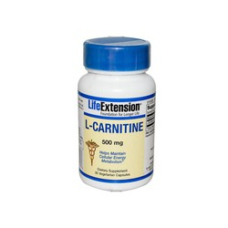 Life Extension L-Carnitine 500mg 30veg.caps