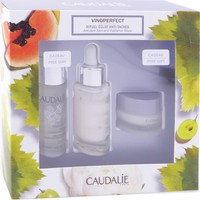 Caudalie Set Vinoperfect Serum Eclat 30ml & Concentrated Brightening Eclat 50ml & Dark Spot Night Cream 15ml