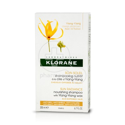 KLORANE - SOIN SOLEIL Shampooing Nutritif a la Cire d' Ylang-Ylang - 200ml