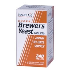Health Aid Brewers Yeast 300mg 240 ταμπλέτες