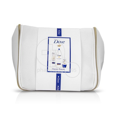 DOVE - PROMO PACK Classic Beauty Deeply Nourishing - 250ml - Essential Milk - 250ml & Original Roll On - 50ml ΣΕ ΕΝΑ ΥΠΕΡΟΧΟ ΝΕΣΕΣΕΡ