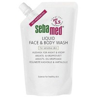 SEBAMED LIQUID FACE-BODY WASH 400ML REFILL