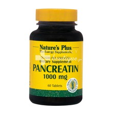 Nature's Plus, Pancreatin 1000 mg, 60 tabs