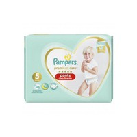 PAMPERS PANTS PREMIUM CARE No5 (12-17KG) JUMPO PACK (34TEM)