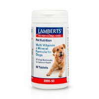 LAMBERTS - PET NUTRITION Multi Vitamin & Mineral Formula for Dogs - 90tabs