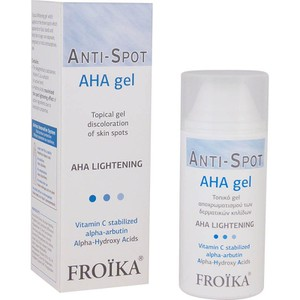 FROIKA Aha lightening gel τοπικό gel 30ml