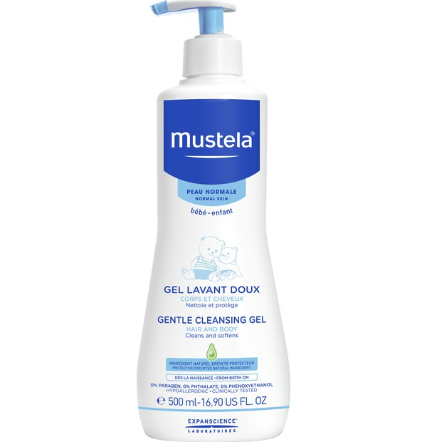 MUSTELA NORMAL SKIN GENTLE CLEANSING GEL 500ML