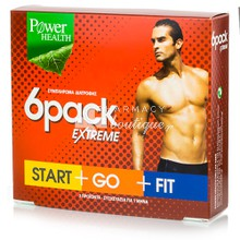 Power Health Σετ 6 PACK EXTREME - Αδυνάτισμα, 90 caps