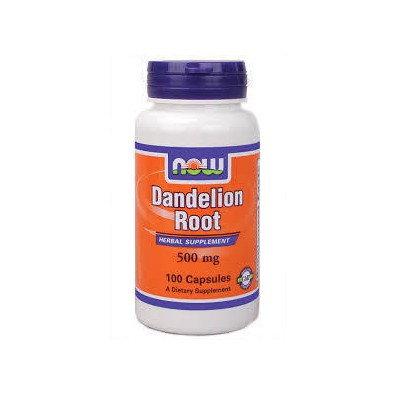 Now foods dandelion root 500 mg