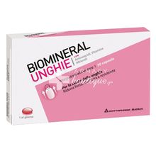 BIOMINERAL Unghie Caps Food Suppl., 30caps