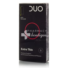 DUO Extra Thin - Πολύ Λεπτό, 6τμχ