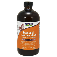NOW RESVERATROL LIQUID 150 MG  VEGETARIAN 473ML