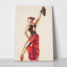 Flamenco dancer 665006767 a