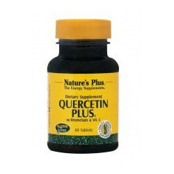 Nature's Plus Quercetin Plus 60 Ταμπλέτες