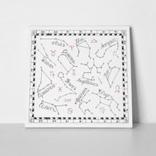 Zodiac constellation map 410493757 a