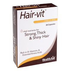 Health Aid Hair-Vit 30 κάψουλες