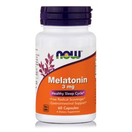 Now Foods Melatonin 3 mg, 60 caps