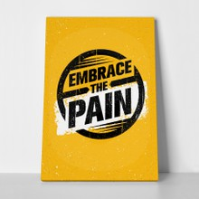 Embrace the pain a