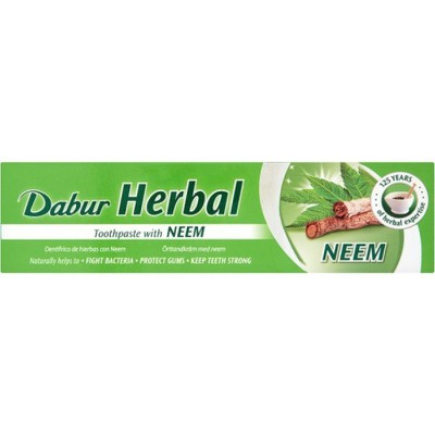 DABUR - Herbal Toothpaste with Neem - 100ml