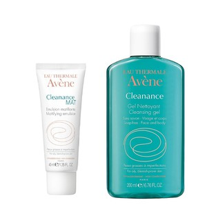 Avene cleanance mat 40ml   cleanance gel 200ml