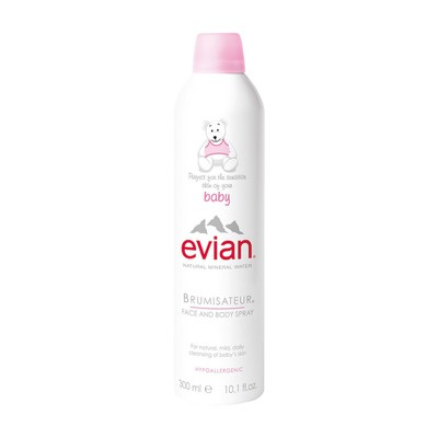EVIAN - Baby Natural Mineral Water Brumisateur Face and Body Spray - 300ml