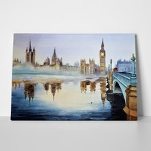 Westminster bridge watercolour london england 553073260 a
