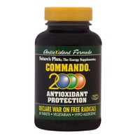 NATURES PLUS COMMANDO 2000 60TABL