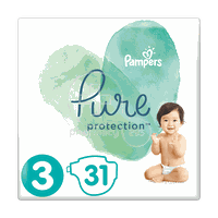 PAMPERS - PURE Protection No3 (6-10kg) - 31πάνες