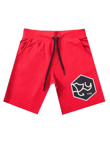 COSI JEANS ROSSINI 1 RED SHORTS