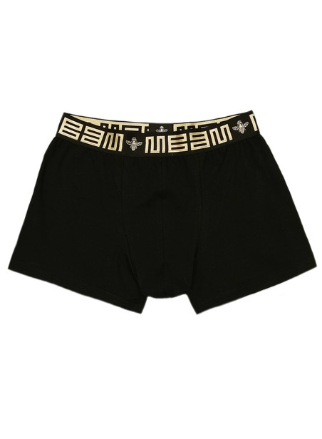 MAGIC BEE CLOTHING BLACK CHAIN RIB BOXER