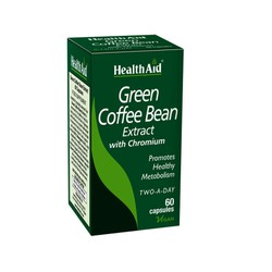 Health Aid Green Coffee Bean Extract with Chronium 60 tabs