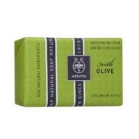 APIVITA NATURAL SOAP ΕΛΙΑ 125GR