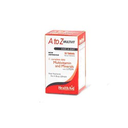 Health Aid A to Z Multivit One A Day 30caps
