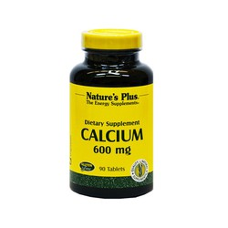 Nature's Plus Calcium 600mg 90ταμπλέτες