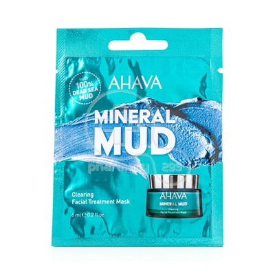 AHAVA - MINERAL MUD Clearing Facial Treatment Mask - 6ml