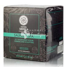 Natura Siberica Sauna & Spa Icy Sugar Body Scrub - Παγωμένο Scrub για Αδυνάτισμα, 370ml