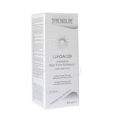 SYNCHROLINE - LIPOACID Intensive Skin Tone Enhancer - 50ml