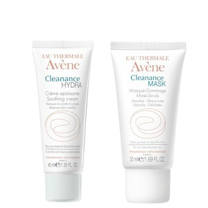 Avene cleanance hydra 40ml   cleanance mask 50ml