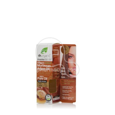 DR. ORGANIC - MOROCCAN ARGAN OIL Liquid Gold Pure Oil - 50ml