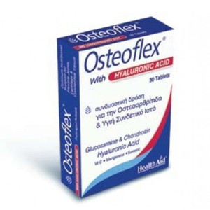 Health aid osteoflex with hyaluronic acid  30 tablets